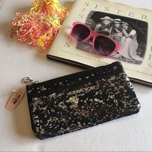 Victoria's Secret Sequined Clutch.